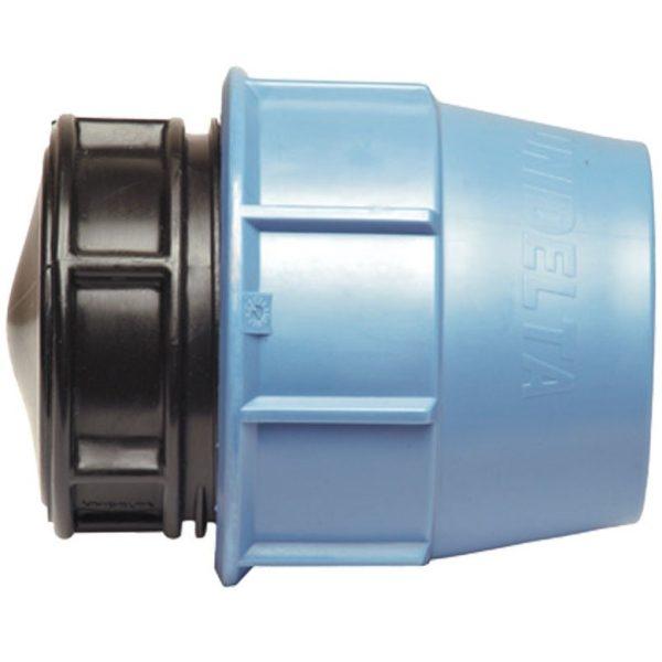 KPE záróelem 40mm