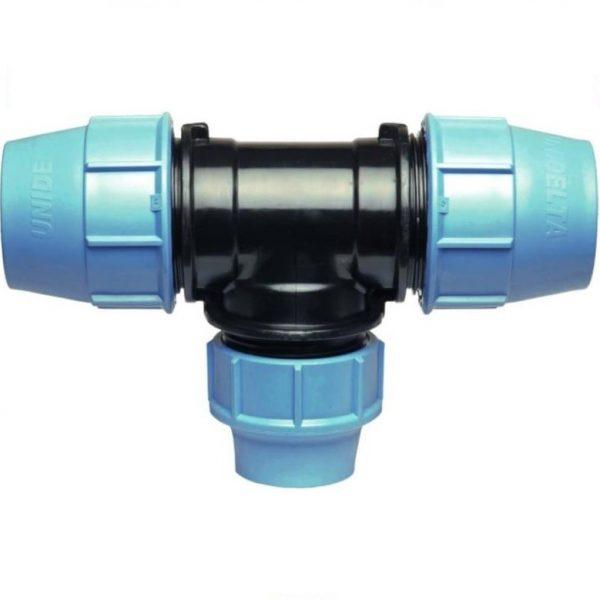 KPE T-idom szűkítő 32mm x 25mm x 32mm - 5db-os csomag