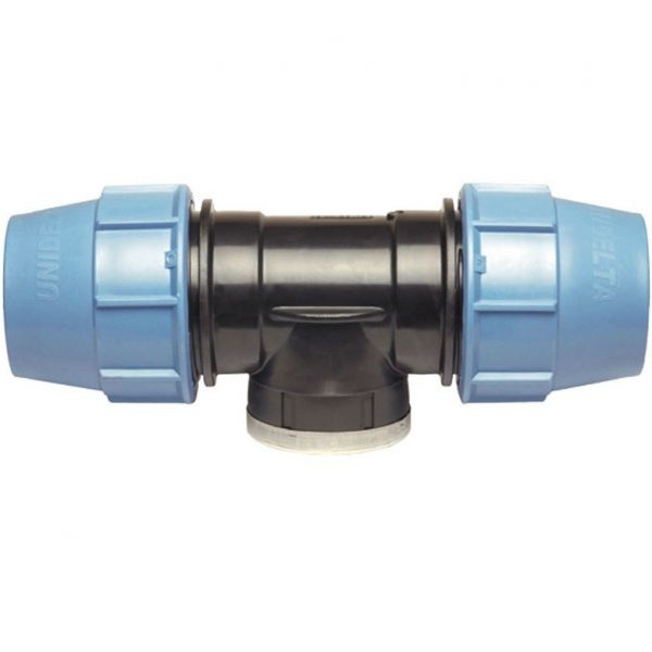 "KPE T-idom BM 20mm x 3/4"" - Belső menetes - 5db-os csomag"